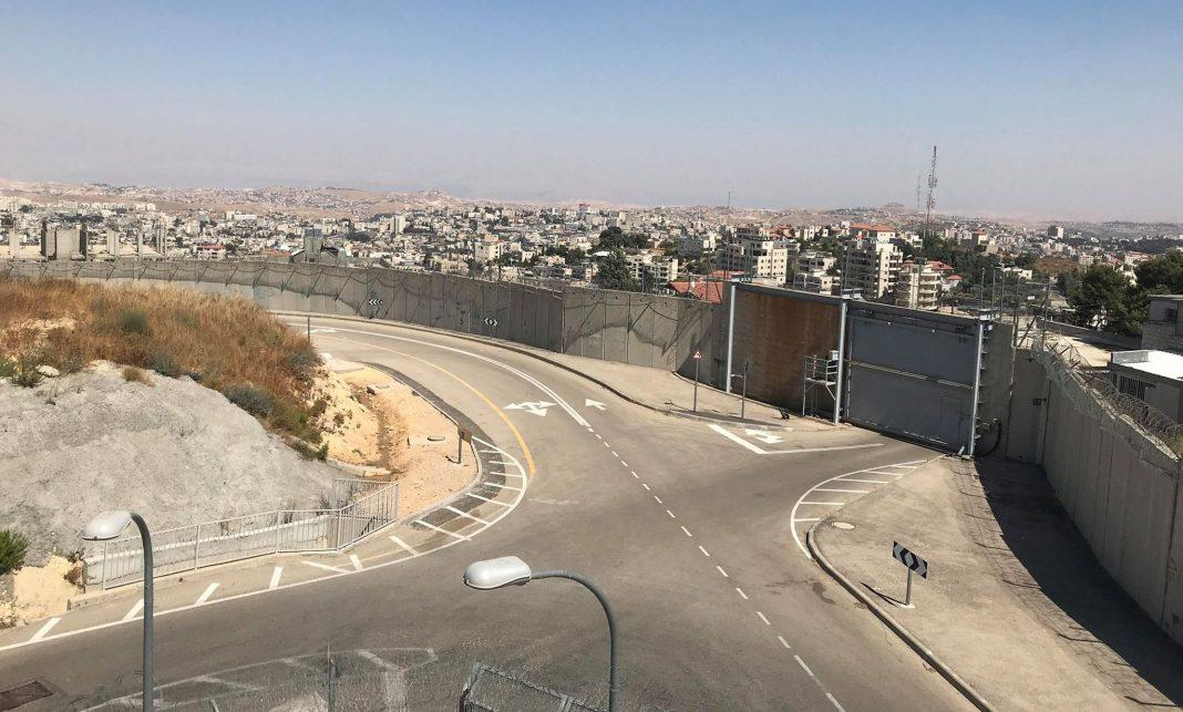 A biztonsági-elválasztó fal Jeruzsálemben - fotó: a szerző