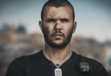 A Jeruzsálemi körzet dokumentumfilm egyik rendőre