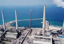 Az izraeli Hevrat Hahasmal áramszolgáltató erőműve Haderán - fotó: Shutterstock