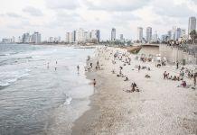 tel-aviv tengerpart