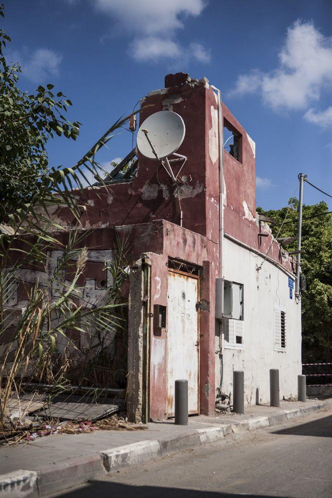romos épület tal-avivban