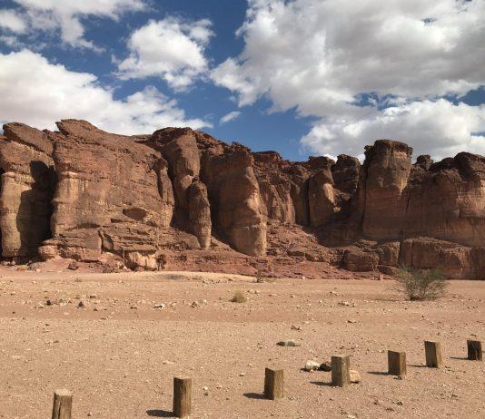 Ókori rézművek a sivatag közepén - fotó: Shiri Zsuzsa