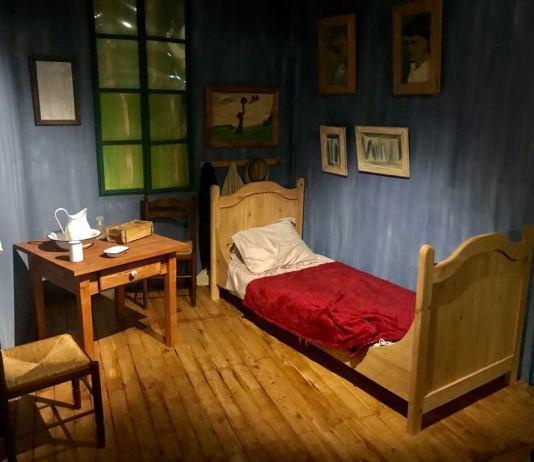 Van Gogh kiállítás Izraelben - fotó: Silló Sándor
