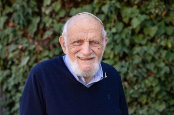 Hillél Fürstenberg fotó: Yosef Adest / Jeruzsálemi Héber Egyetem