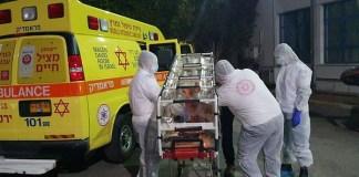 izraeli mentők koronavírus Izraelben
