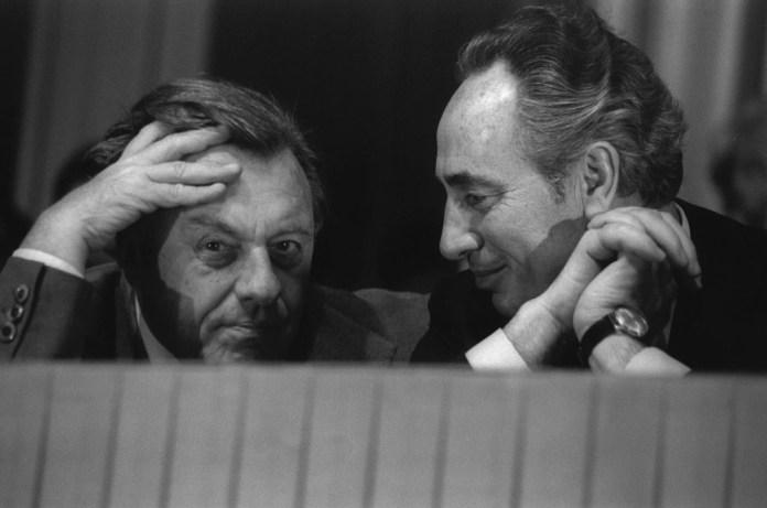 Simon Peresszel, 1977 - fotó: Saar Yacov / GPO