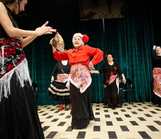 flamenco tánc Berger Gabi