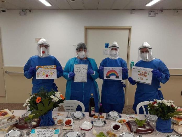 peszach koronavírus izraeli kórház