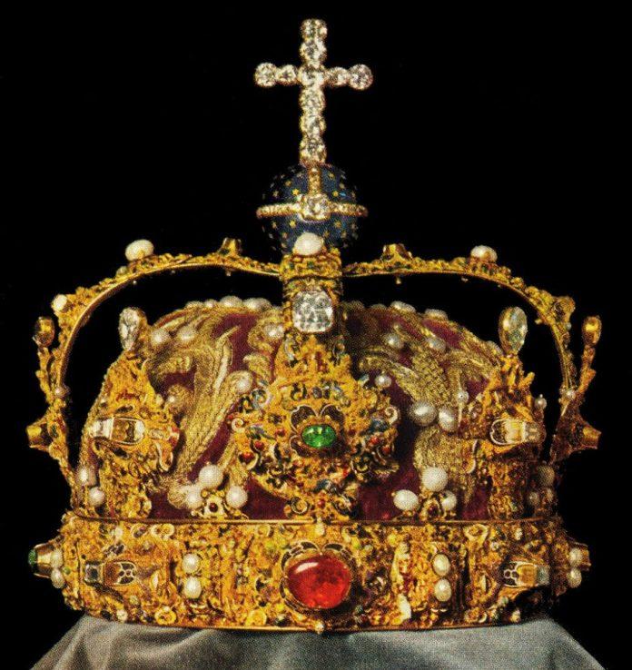 A svéd korona - fotó: Wikipedia