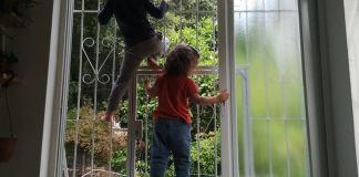 gyerekek karanténban