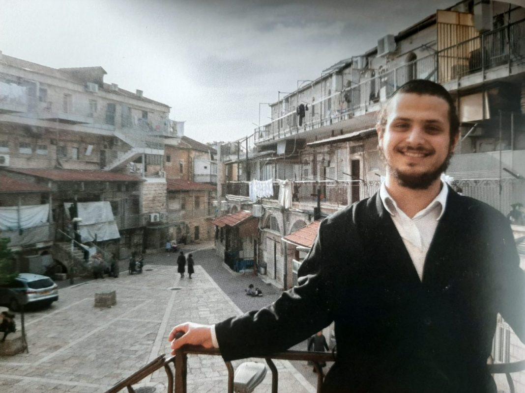 Tanuló a Magyar Házak jesivájából
