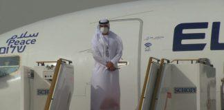 El-Al gép Abu Dabi-ban