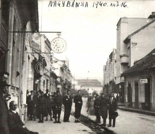Nagybánya 1940-ben