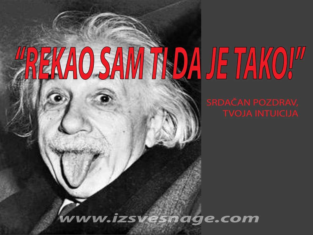 Einstainova teorija relativiteta, sjeme mudrosti i snage posijano iz Kabale
