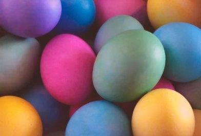 Boje koje odabiremo za jaja, slika