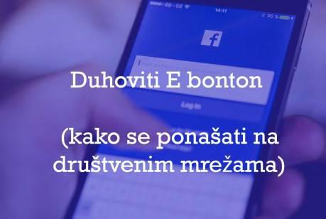 pravila ponašanja na društvenim mrežama