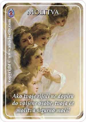 """Poruka Anđela: """"Ako tvoje riječi ne dopiru do voljene osobe, tvoja će molitva sigurno moći!"""""""