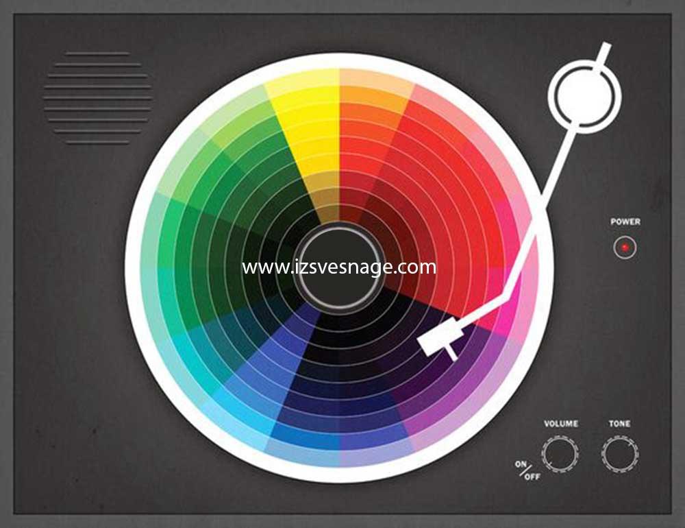 Psihologija boja (sa infografikom)