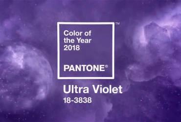 PANTONE 18-3838 Ultra Violet boja je 2018 godine