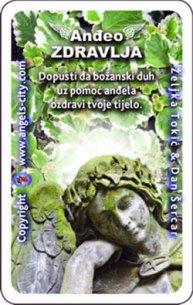 Anđeo s tobom! Anđeoska karta tjedna, anđeo zdravlja
