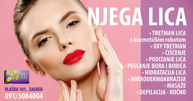 Sve za njegu žene - kompletne usluge, Frizerski i kozmetički salon Nicole u centru Zagreba u blizini Petrove crkve i Kvatrića