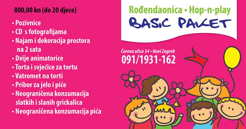 Rođendanska proslava u rođendaonici i igraonici Hop-n-play Novom Zagrebu, proslavite dječji rođendan uz bogate sadržaje te najbolji slavljenički akcijski paket, Hop and play dječji rođendan, rođendaonica Novi Zagreb povoljne cijene , Rođendanska proslava za djecu od 3 do12 godina