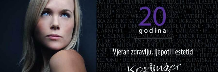 Fotobiomodulacija je revolucionarna svjetlosna terapija u kozmetičkoj upotrebi koja potiče regeneraciju, pomlađuje i uklanja bore, herpes, akne, ožiljke, ubrzava cirkulaciju, povećava elastičnost kože te dovodi do pomlađivanja, poboljšanja izgleda kože, bioobnove, moćan neinvanzivan nekirurški lifting jedino dostupan u salonu Kozlinger u Zagrebu