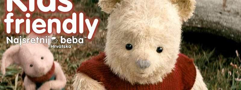 Filmska recenzija: CHRISTOPHER ROBIN, igrani film za djecu