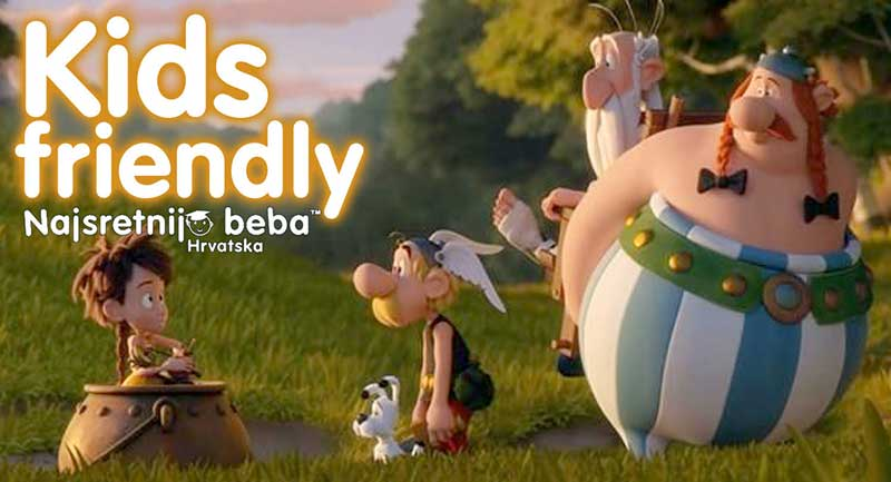 KIDS FRIENDLY: ASTERIX: TAJNA ČAROBNOG NAPITKA, animirani, 85 min