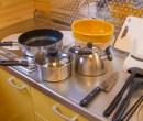 備え付け キッチン用品