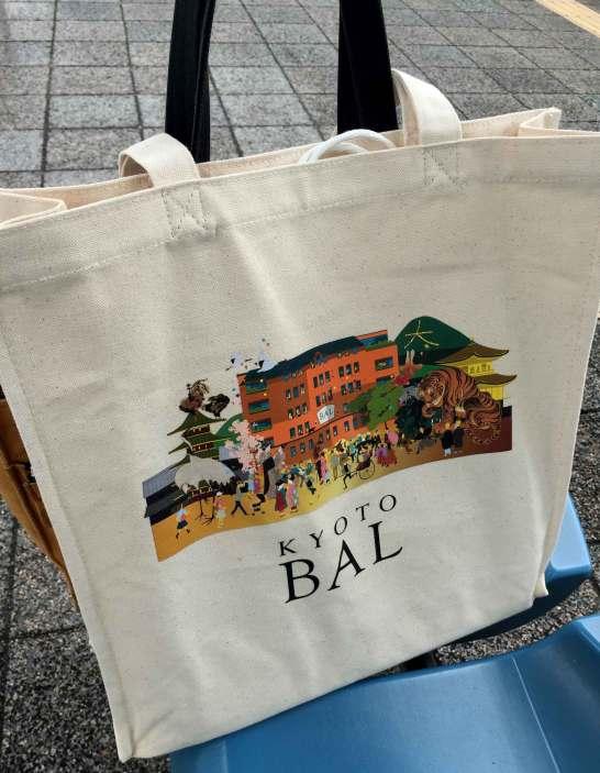 京都BALオリジナルトートバッグ