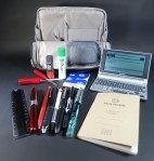スリムでコンパクト、鞄にスムーズに収まるツールペンスタンドハコビズ(Haco・biz)[文具]