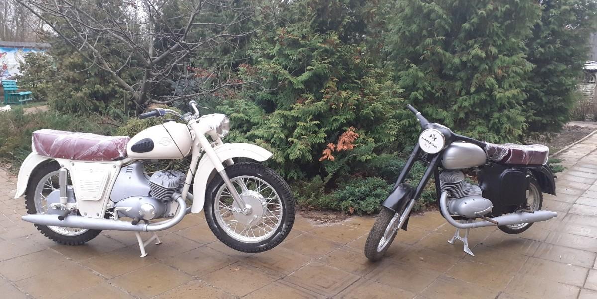 Последние отремонтированные мотоциклы.
