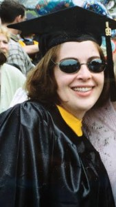 Jodie in Cap and Gown