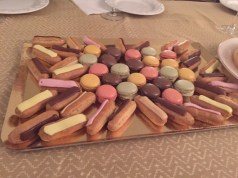 Macaroons and eclairs!