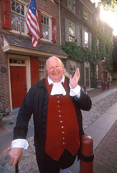 Ben Franklin Elfreths Alley
