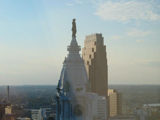 ben franklin top city hall
