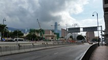 This city has tons of construction & haze - both in this pic along with the Space museum