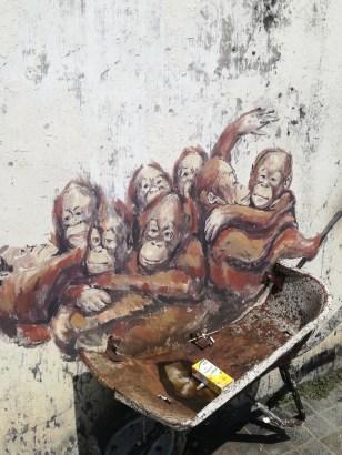 Orangutan Mural