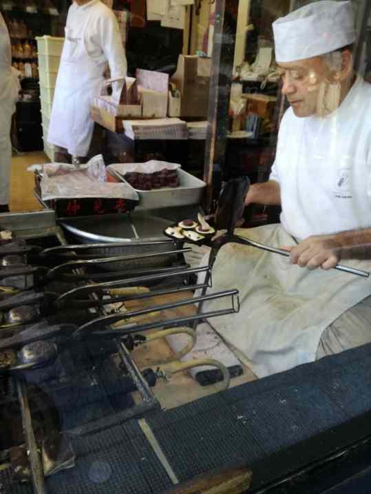 Making pastries