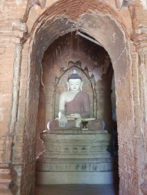 Small temple - many had buddhas facing each 4 direction. and small staircases to get to the top