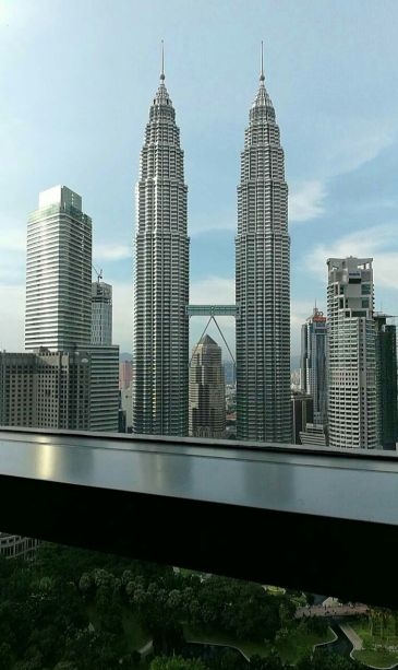 Petronas view from sky bar