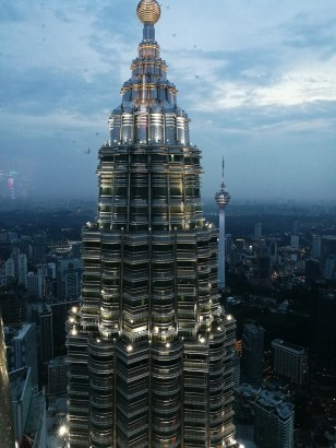 View from one of the Petronas
