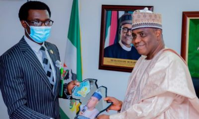 sokoto state governor awardes by AU