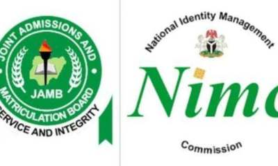 Jamb elaborates on NIN and the use of a SIM card for registration