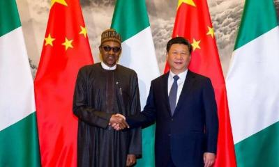 picture potraying China's willingness to aid Nigeria in the fight against Covid-19