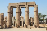 headless statues - Luxor temple