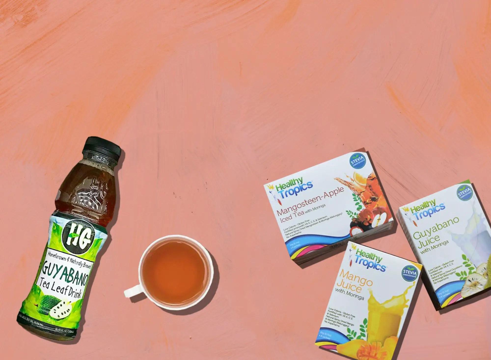 orich-guyabano-tea-malunggay-juice