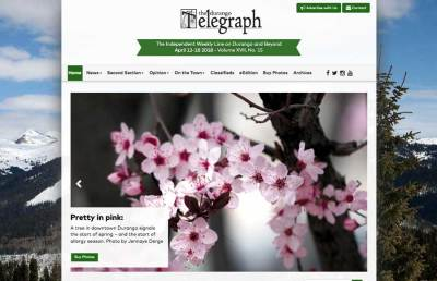 Durango Telegraph Website