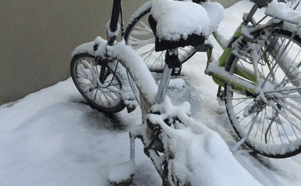 heavy snow in Tokyo 2018